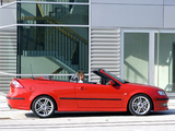 Saab 9-3 Convertible Aero Performance by Hirsch 2003–07 wallpapers