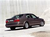 Images of Saab 9-5 Sedan 2002–05