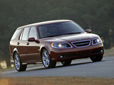 Images of Saab 9-5 SportCombi US-spec 2005–10