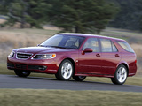 Photos of Saab 9-5 SportCombi US-spec 2005–10