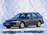 Pictures of Saab 9-5 Wagon 1998–2001