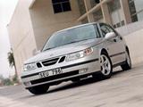 Pictures of Saab 9-5 Sedan 2002–05