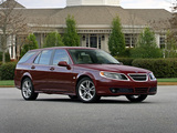 Pictures of Saab 9-5 SportCombi US-spec 2005–10