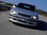 Saab 9-5 Aero Wagon 1999–2001 images