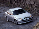 Saab 9-5 Aero Sedan 1999–2001 photos