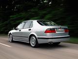 Saab 9-5 Aero Sedan 1999–2001 pictures