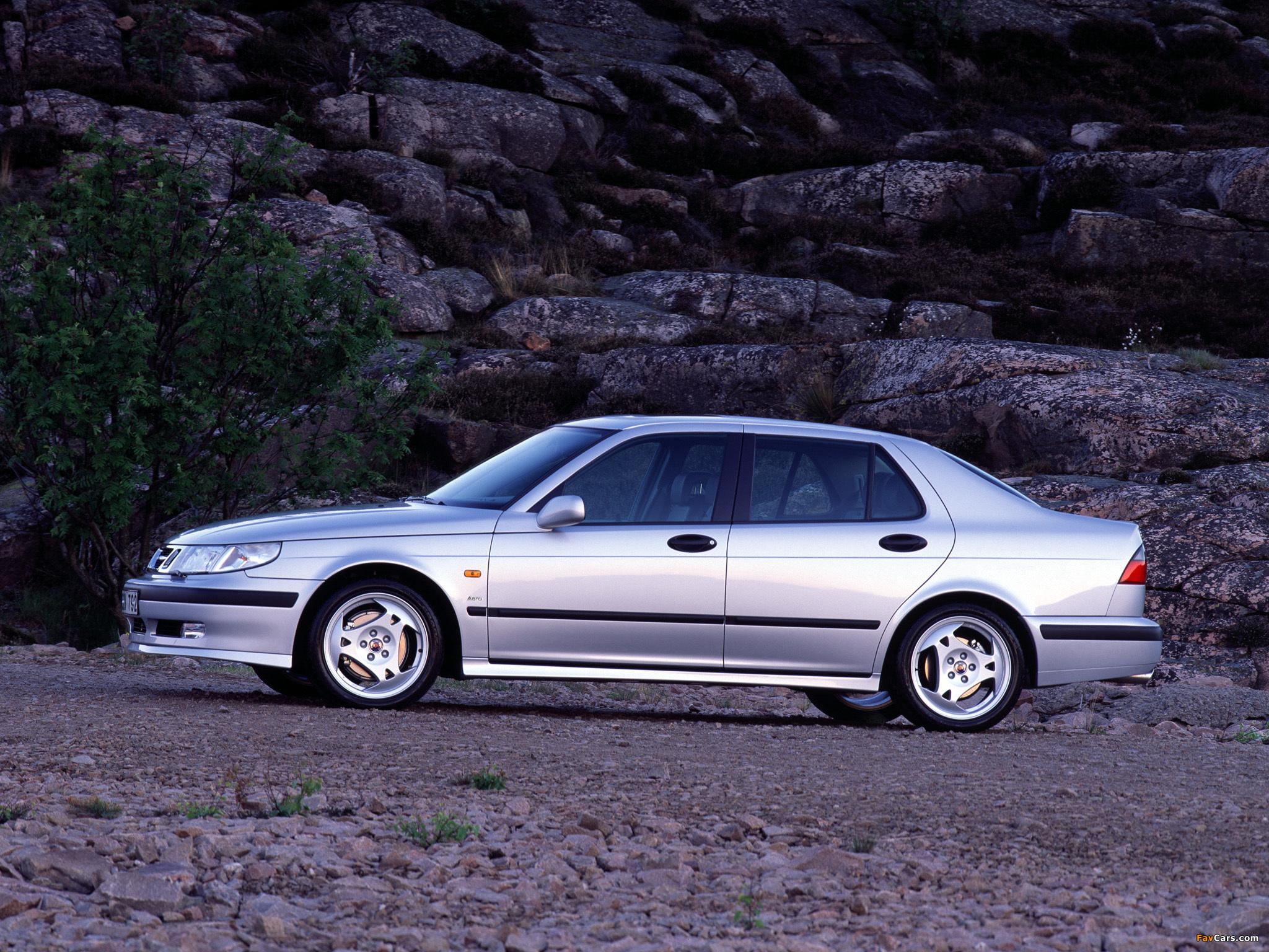 Saab 9 5 Sedan Aero 1999 2001 Wallpapers