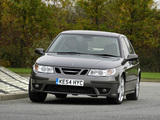 Saab 9-5 Aero Sedan UK-spec 2002–05 images