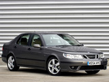 Saab 9-5 Aero Sedan UK-spec 2002–05 pictures