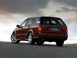 Saab 9-5 SportCombi US-spec 2005–10 wallpapers