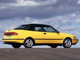 Images of Saab 900 SE Turbo Convertible 1993–98