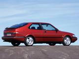 Photos of Saab 900 SE Turbo Coupe 1993–98