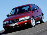 Pictures of Saab 900 SE Turbo Coupe 1993–98