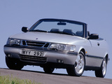 Pictures of Saab 900 SE Turbo Convertible 1993–98
