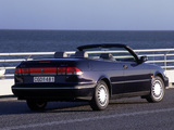 Pictures of Saab 900 S Convertible 1993–98