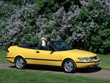 Saab 900 SE Turbo Convertible 1993–98 images