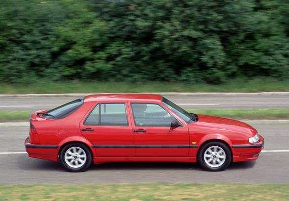 Saab 9000 CSE Anniversary Edition 1996–98 wallpapers