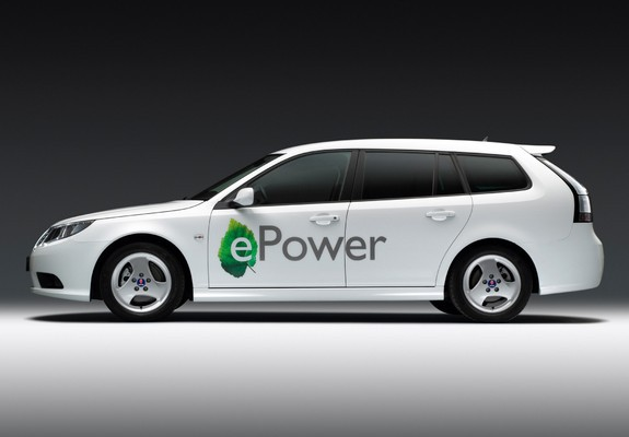 Saab 9 3 Epower Concept 2010 Images