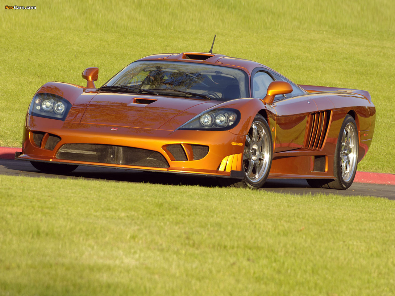 Saleen S7 Twin Turbo 2005 06 Wallpapers 1280x960