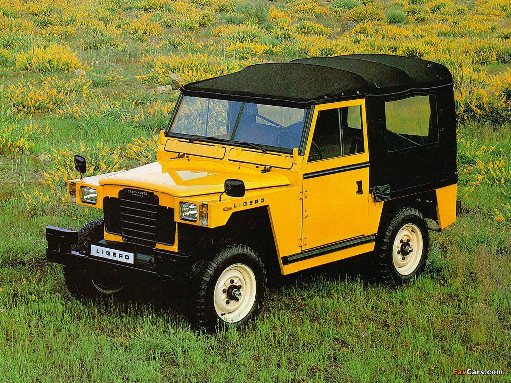 land rover santana 88 ligero 1980– pictures