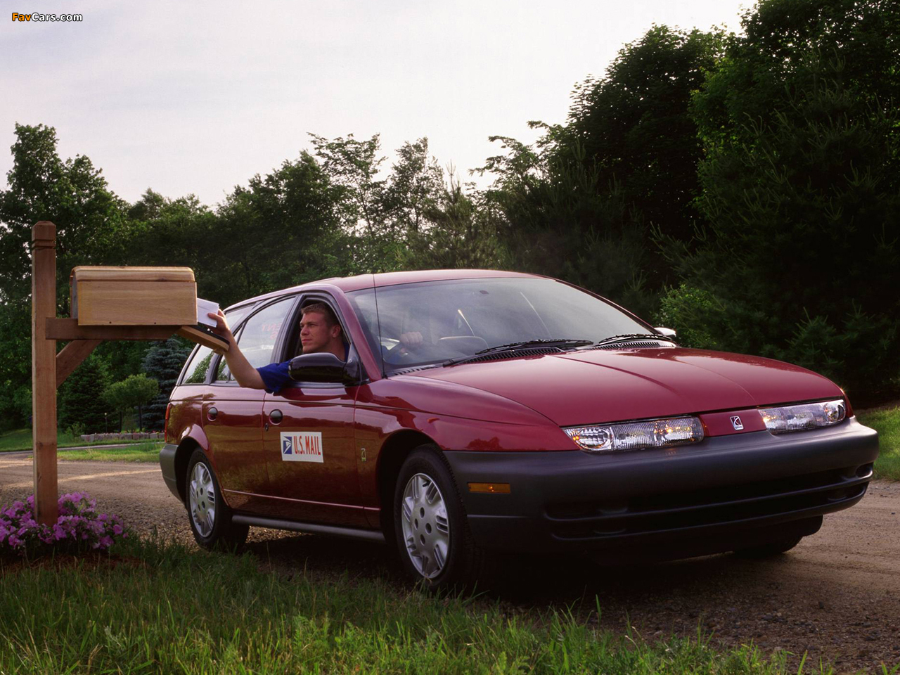 Saturn Swp Postal Station Wagon 1999 Wallpapers 1280x960