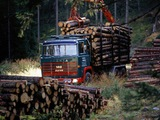 Scania LBT140 Timber Truck 1968–72 images