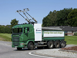 Photos of Scania-Siemens e-Highway 8x4 Trolley Truck 2012