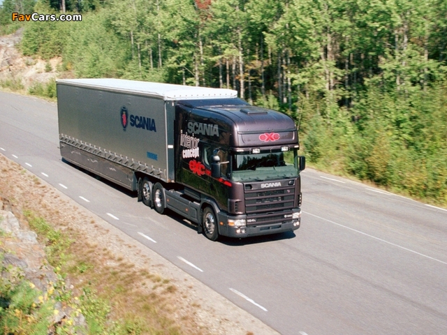 Scania eXc Concept 2002 wallpapers (640 x 480)