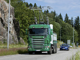 Scania-Siemens e-Highway 8x4 Trolley Truck 2012 pictures