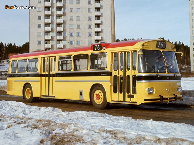 Images of Scania CR76 1966–71 (640 x 480)