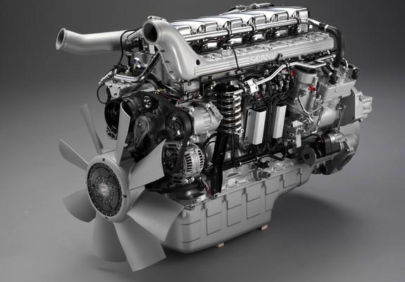 Engines Scania 420/470 hp 12-litre Euro 4 turbocompound