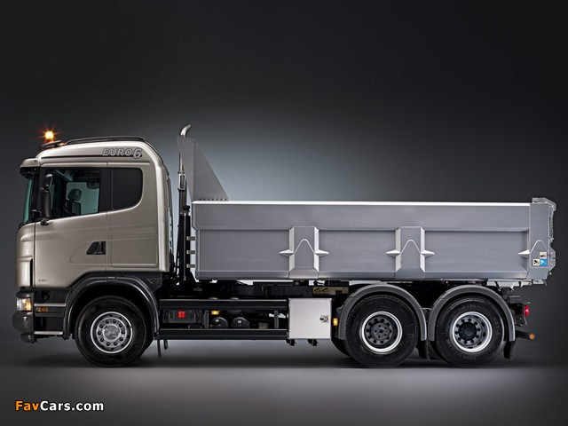 Images of Scania G480 6x4 Tipper 2010–13 (640 x 480)