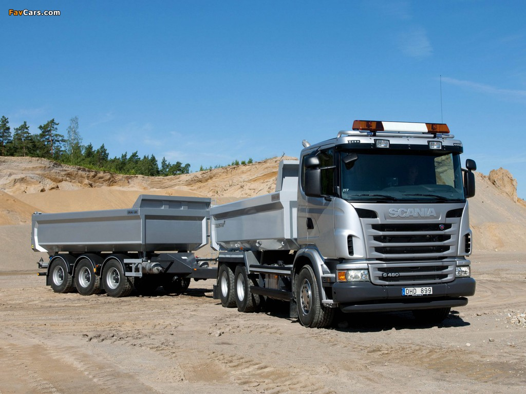 Images of Scania G480 6x4 Tipper 2010–13 (1024 x 768)