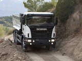 Photos of Scania G360 6x4 Tipper Off-Road Package 2011