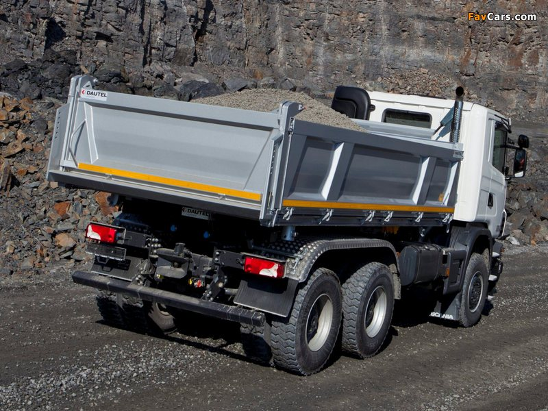 Photos of Scania G440 6x6 Tipper Off-Road Package 2011 (800 x 600)