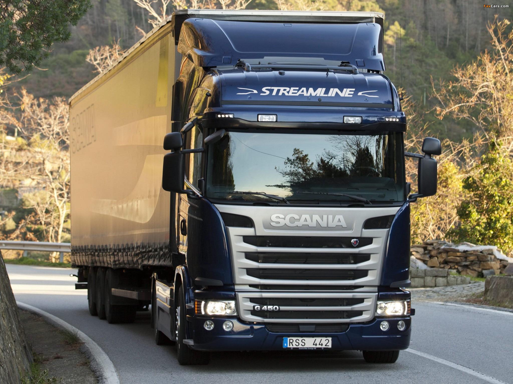 Photos of Scania G450 4x2 Streamline Highline Cab 2013 (2048 x 1536)