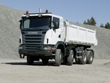 Pictures of Scania G420 8x6 Tipper 2005–10