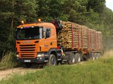 Pictures of Scania G440 6x6 Timber Truck 2010–13