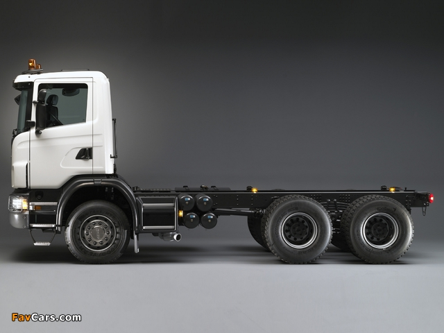 Scania G420 6x4 2005–11 images (640 x 480)