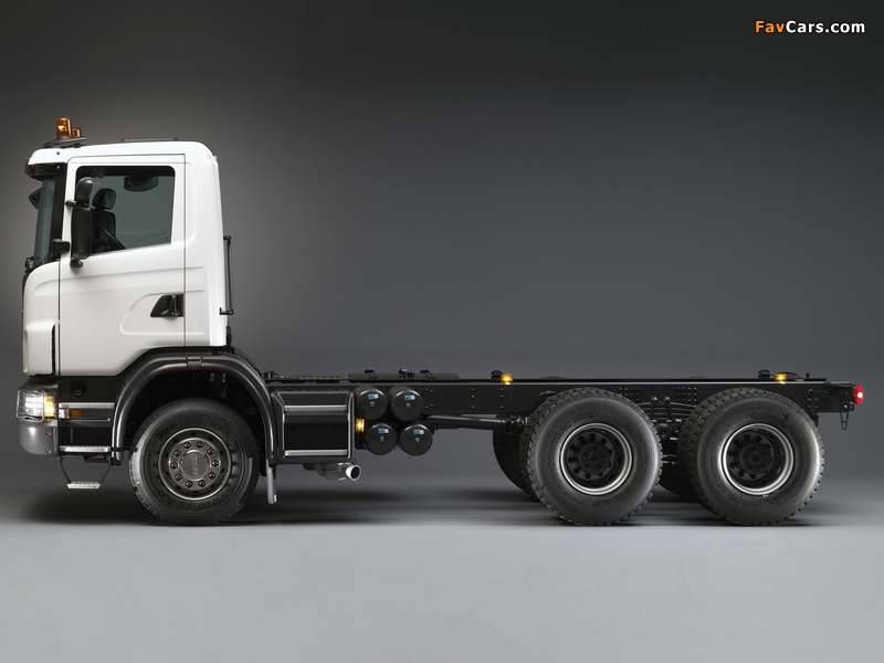 Scania G420 6x4 2005–11 images (800 x 600)