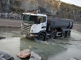 Scania G420 8x4 Tipper 2005–10 images