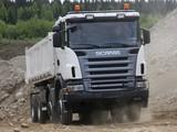 Scania G420 8x6 Tipper 2005–10 photos