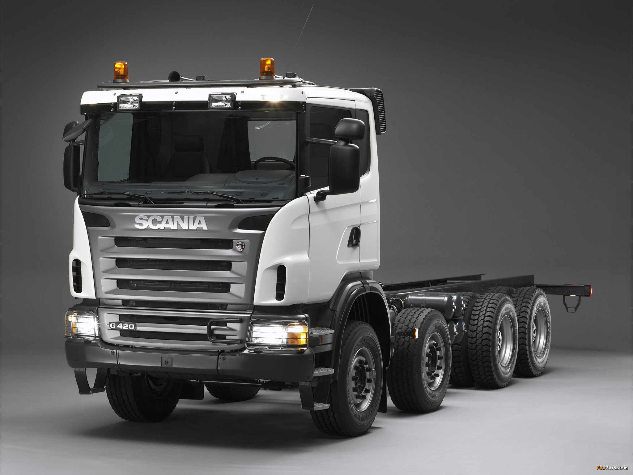 Scania G420 8x4 2005–10 wallpapers (2048 x 1536)