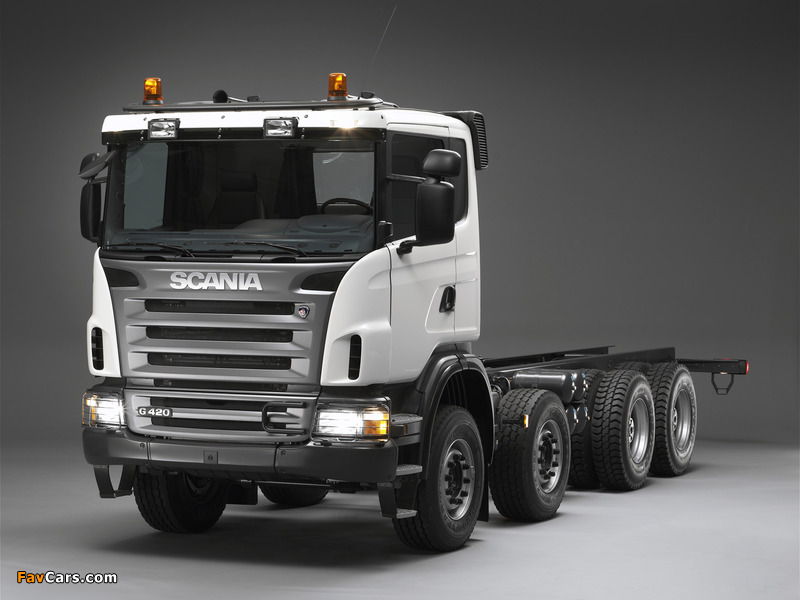 Scania G420 8x4 2005–10 wallpapers (800 x 600)