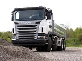 Scania G440 8x4 Tipper 2009–13 images
