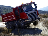 Scania G400 8x6 Tipper 2010–13 images