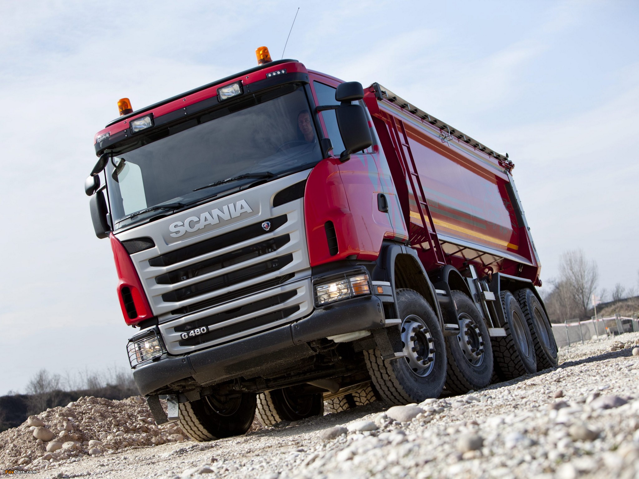 Scania G480 8x4 Tipper 2010–13 images (2048 x 1536)