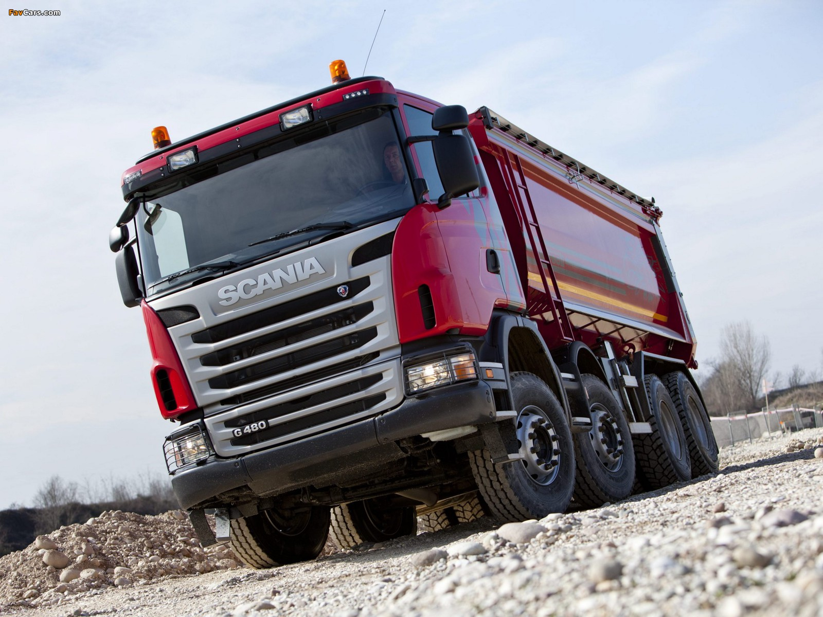 Scania G480 8x4 Tipper 2010–13 images (1600 x 1200)