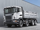 Scania G480 8x4 Tipper 2010–13 images