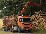 Scania G440 6x6 Timber Truck 2010–13 photos